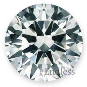 03 Ct I SI2 Round Certified Natural Loose Diamond