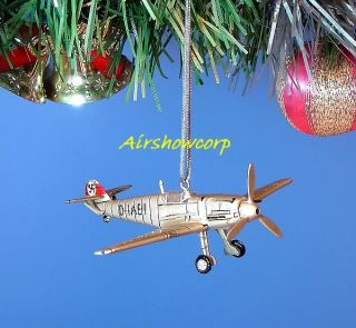 Decoration Ornament Home Party Christmas WW2 USA vs German Fighter Z