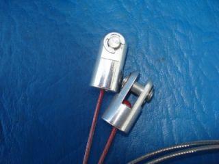 Lokar #IDH2001 & #DLR2100 Interior Oval Door Handles Complete Kit 1932