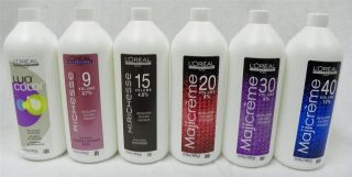 New Loreal Hair Color Developer Oxydant Your Choice 33 8 oz 1000ml