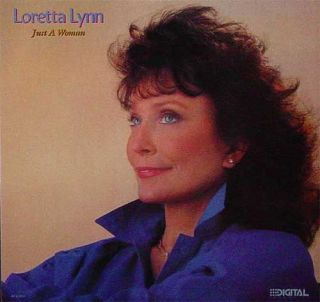 Loretta Lynn Just A Woman New Promo LP