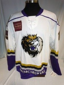 Manchester Monarchs Game issued Hockey Jersey Los Angeles Kings