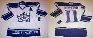 CCM Los Angeles Kings Anze Kopitar White Jersey Sz 2XL