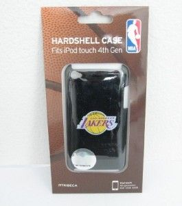NBA Los Angeles Lakers iPod Touch 4th Gen Hard Shell Case Cover Black