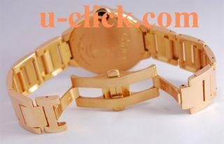 18K Pink Gold Large Cartier Ballon Bleu Watch W69006Z2