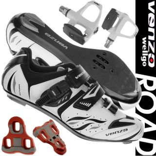 Venzo Road Bike For Shimano SPD SL Look Cycling Bicycle Shoes & Sealed