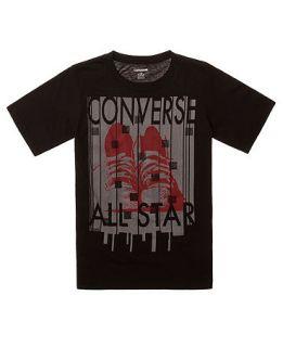 Converse Kids T Shirt, Boys Big Foot Tee   Kids Boys 8 20