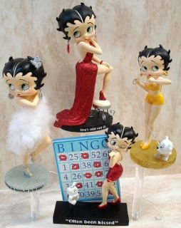 Betty Boop Puppy Love Acrylic Pudgy Kisses 6946