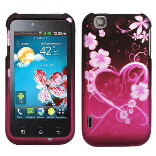 Exotic Love Hard Snap On Cover Case for LG Maxx Touch E739 T Mobile