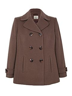 Eastex Double breasted coat Taupe