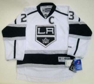 Los Angeles Kings Dustin Brown Youth Stitched Premier White Jersey