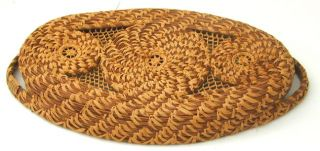 Pine Needle Basket Made by Margaret Dollison Lowman Home White Rock SC