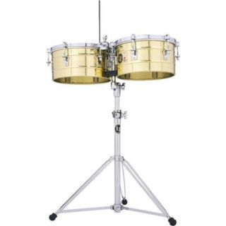 LP Latin Percussion Tito Puente Timbales 13 14 Brass