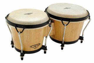 LP Latin Percussion CP Traditional Bongos Natural Finish CP221 AW