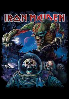 New Iron Maiden Cloth Poster Flag Frontiers Album