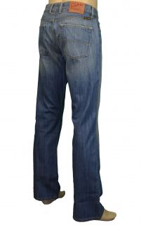 Lucky Brand Jeans Mens Slim Bootleg Blue Jeans