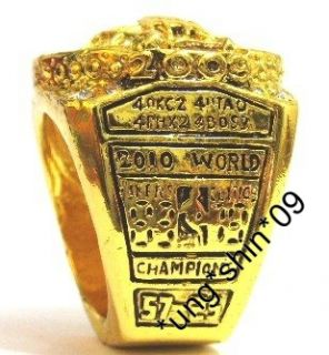 Los Angeles Lakers NBA 2010 Championship Souvenir Ring