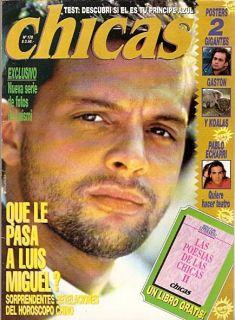 Luis Miguel Magazine Argentina 1995