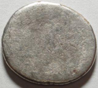 Ancient Rome Julius Caesar Portrait Denarius April of 44 BC Genuine No