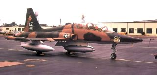 Squadron F 5B Freedom Fighter at Williams Air Force Base, Arizona