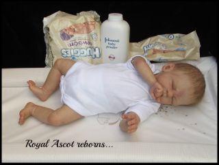 Lucio Jackie Gwin 19 5lb 4oz Reborn Baby Girl Doll Slumberland