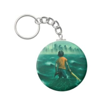 Percy Jackson Keychain keychains by roccoart