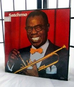 Musical Autobiography of Louis Armstrong LP Boxed Set Decca MCA