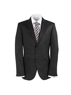 Paul Costelloe Black slim fit suit jacket Black
