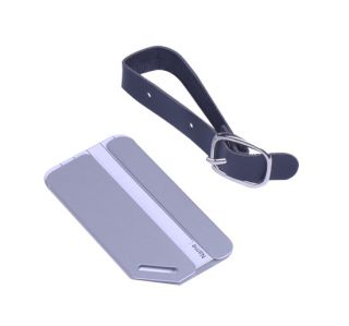 10 x Travel Metal Aluminium Baggage Luggage Tag Belt Buckle Adress