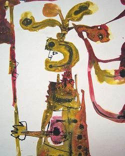 Jose Luis Caballero Signed C 1958 Watercolor Listed