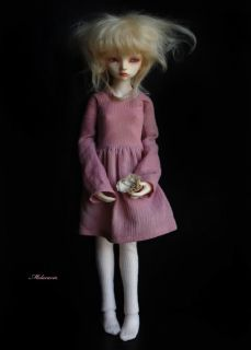 OOAK Custom BJD by Melacacia Lily MSD Sized Ball Jointed Doll w EXTRAS