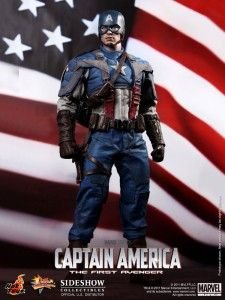 CAPTAIN AMERICA 1/6 ACTION FIGURE 12 THE FIRST AVENGER CHRIS EVANS