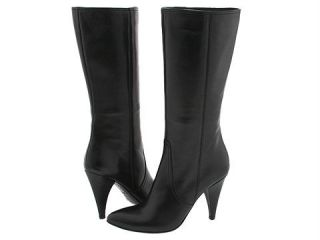 Lumiani Darryanne Black Nappa Leather Fashion Boot