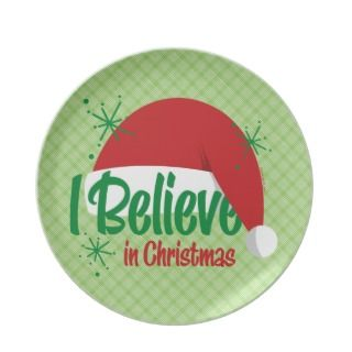 Believe In Christmas Plate