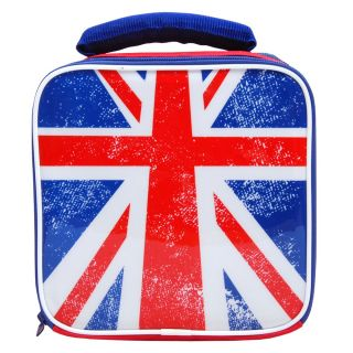 Union Jack Insulated Lunch Bag Box