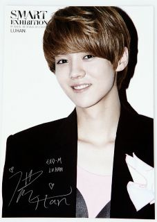 ART SMART EXHIBITION Silver Goods EXO M Luhan Official Photo Post Card