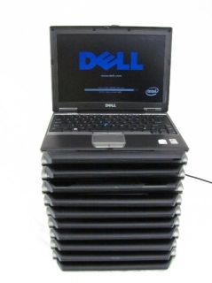 10 Dell Latitude D430 Core 2 Duo 1 20GHz 2GB RAM Laptops Power to BIOS