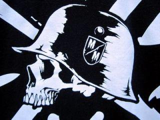 Jeremy Lusk Metal Mulisha Tee T Shirt Proud in Peace Skull Motorcycle
