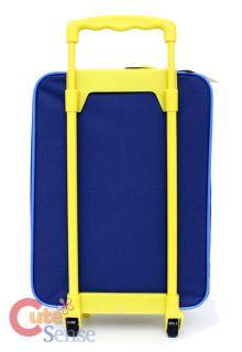 Spongebob Rolling Luggage Suitecase Travel Bag Blue