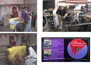 Larry Lyles Autobody Painting Sheet Metal 4 DVD Set