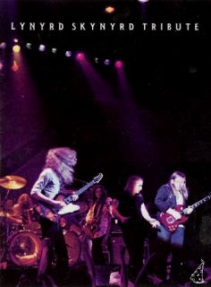Lynyrd Skynyrd 1987 Tribute Tour U s Concert Program Book