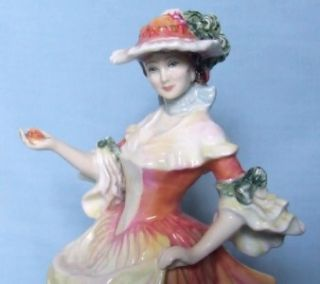 Royal Doulton Lady Figurine Rose HN3709 Flowers of Love Series