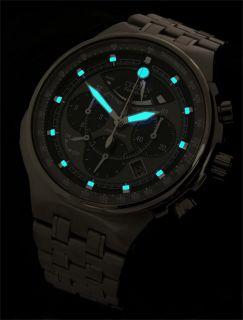 Titanium Citizen Promaster Eco Drive 200M Alarm Chronograph Sapphire