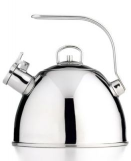 BergHOFF Tea Kettle, 11 Cup Harmony Whistling Stainless Steel