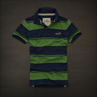 Hollister by Abercrombie Fitch McGrath Beach Polo T Shirts Tee