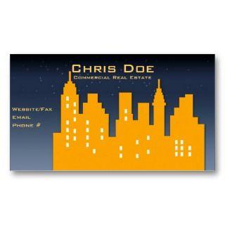 real estate business card by denvercris make custom made business