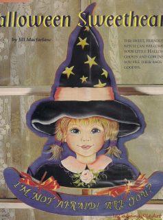 Jill MacFarlane Halloween Sweetheart Witch Mag Article Pattern Bargain