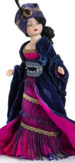 Madame Alexander Midnight Exotique Cissette 10 with Painted Eyes Ball