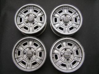 Cromodora Magnesium Wheels Rims 6x13 Mazda Looks Like Fiat Style