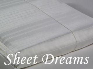 Sferra Luxury Hotel 500 TC Italian Egyptian Cotton Sateen Twin Sheet